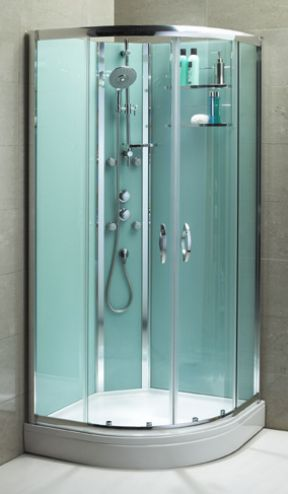 Slot & Lock Quadrant Shower Enclosure