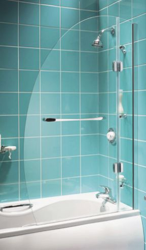 Aqualux Energy Oval Bath Screen