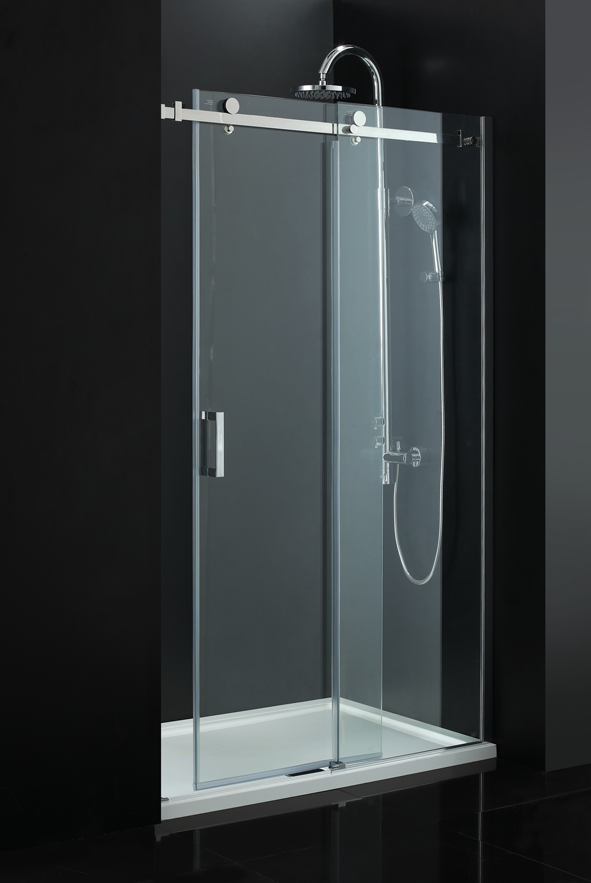 Tc sevilla frameless sliding door nationwide bathrooms for Tc bathrooms