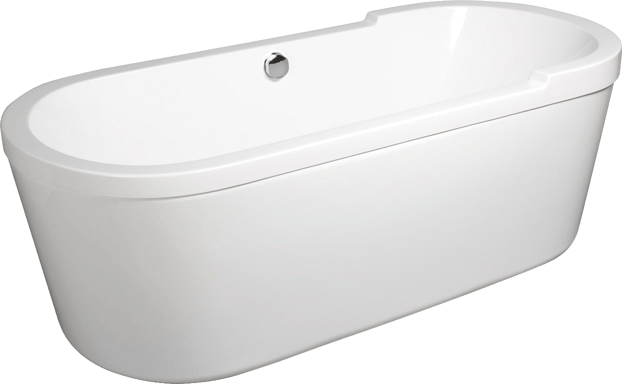 Tc turin freestanding double skinned acrylic bath for Tc bathrooms