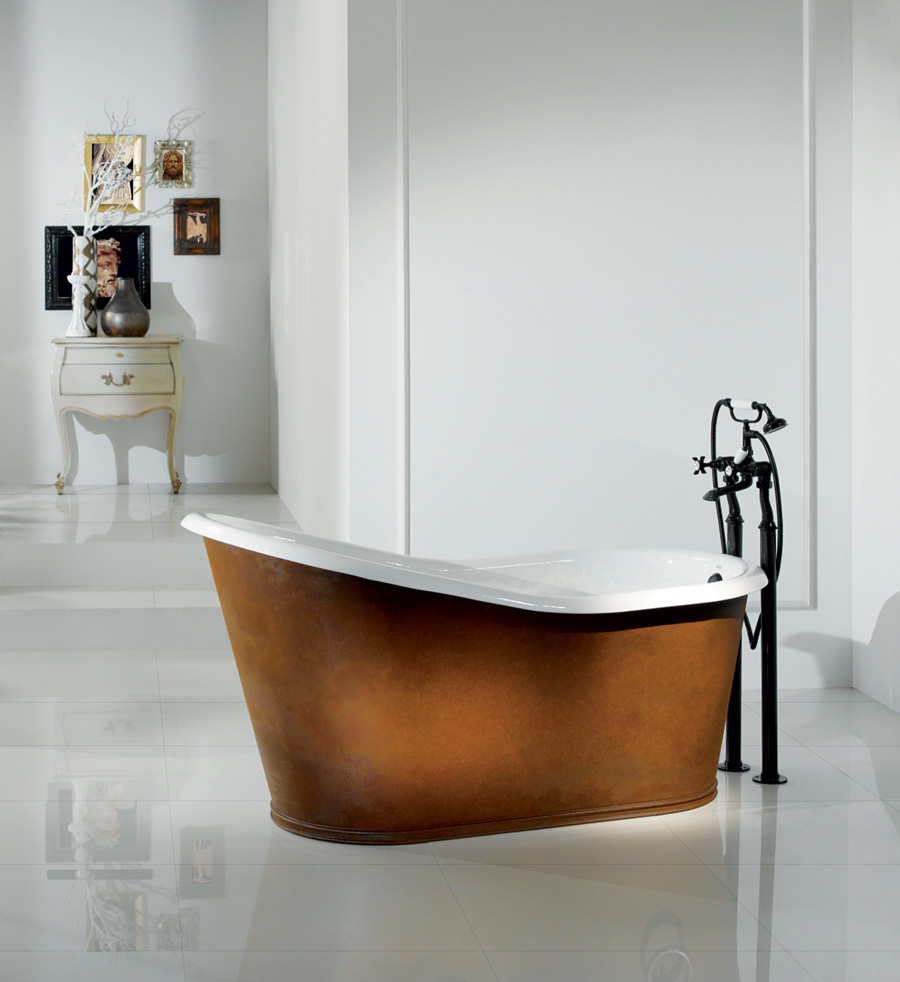Tc dakota cast iron slipper bath nationwide bathrooms for Tc bathrooms