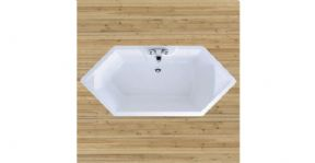 Adamsez Aria Bath Without Tap Ledge With 12 Jet Whirlpool System