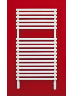Bisque Straight Fronted 796 x 446 Towel Radiator