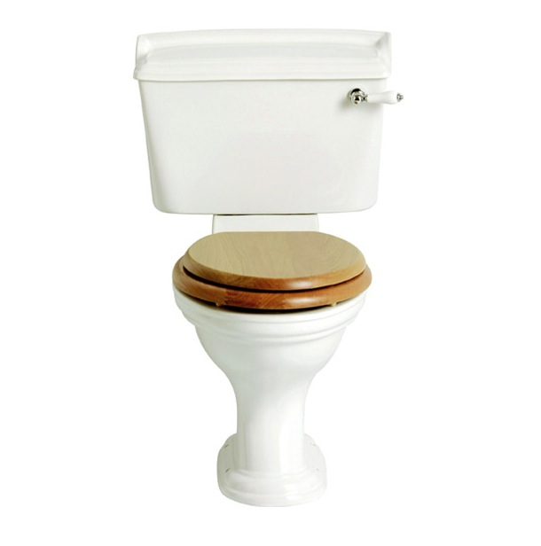 Heritage dorchester close coupled wc nationwide bathrooms - Model deco wc ...