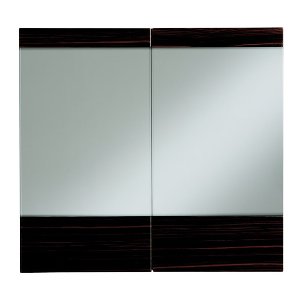 heritage fresso mirror wall cabinets nationwide bathrooms