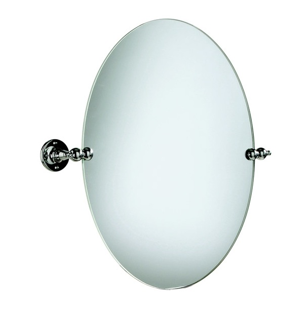 Heritage Oval Swivel Mirror - Nationwide Bathrooms
