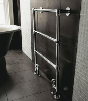 Imperial Lund Heated Floor Towel Rail