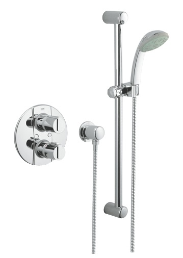 grohe grohtherm 2000 built in valve nationwide bathrooms. Black Bedroom Furniture Sets. Home Design Ideas
