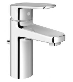 Grohe Europlus Basin Mixer With Pop-up Waste