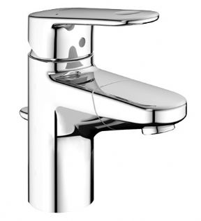 Grohe Europlus Basin Mixer With Pull Out Spout & Pop-up Waste