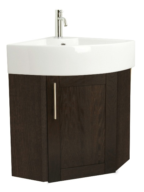 Corner Basin And Vanity Unit : Miller Oakland Corner Vanity Unit With Corner Basin - Nationwide ...