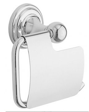 Cifial Edwardian Toilet Roll Holder With Cover