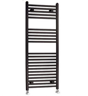 Hudson Reed Covent 1150 x 450 Black Towel Rail