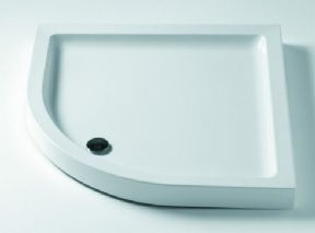 Ideal Standard Idealite Flat Top Low Profile Quadrant Trays With Waste