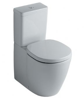 Ideal Standard Concept Close Coupled Back to Wall WC With Cube Cistern