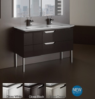 Roca kalahari n vanity units nationwide bathrooms for Roca kalahari
