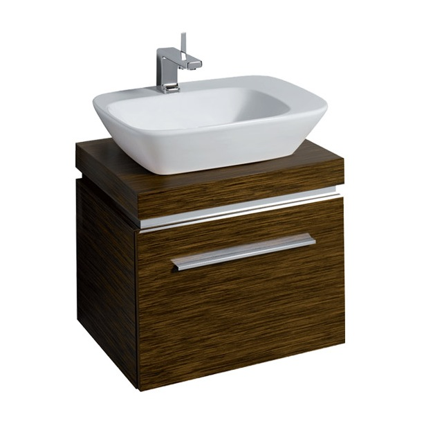 Countertop Unit : Twyford Vello 570 Countertop Basin With Shelf And Vanity Unit ...