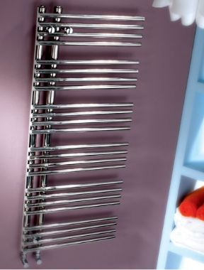 mhs Comb Stainless Steel Towel Rail