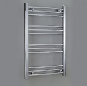 Phoenix Diva Curved Towel Rail