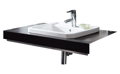 Jacuzzi bordo semi recessed basin nationwide bathrooms - Jacuzzi semi enterre ...