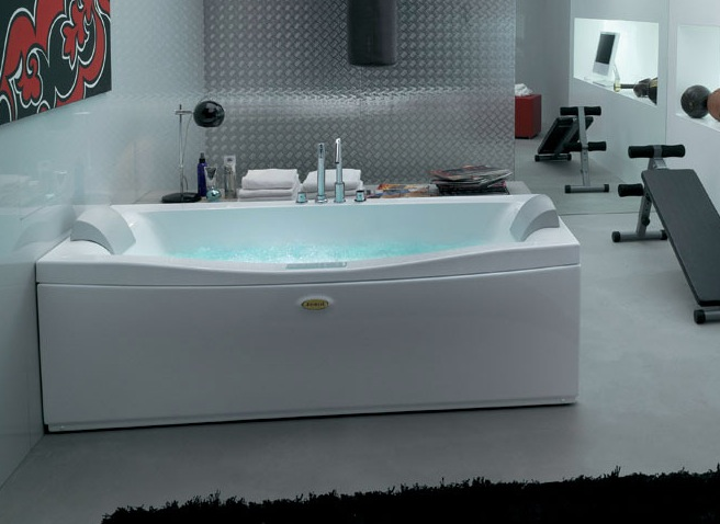Jacuzzi Invita Double Ended Bath - Nationwide Bathrooms