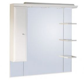 Roper Rhodes Valencia 1000 Mirror With Shelves Cupboard And Light Canopy