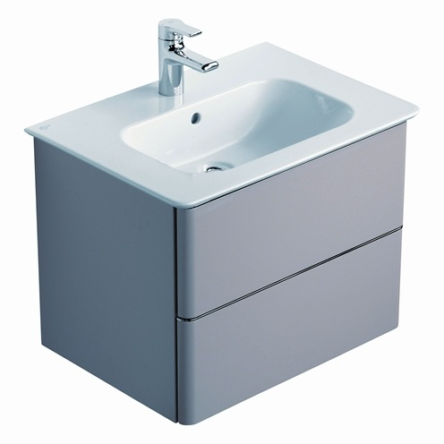 ideal standard softmood 2 drawer vanity unit nationwide bathrooms
