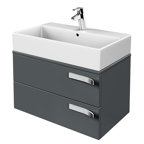 ideal standard strada 2 drawers with worktop vanity unit nationwide bathrooms. Black Bedroom Furniture Sets. Home Design Ideas
