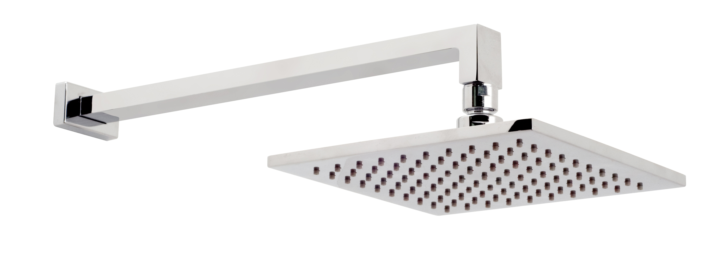 vado atmosphere air injection square shower head with arm