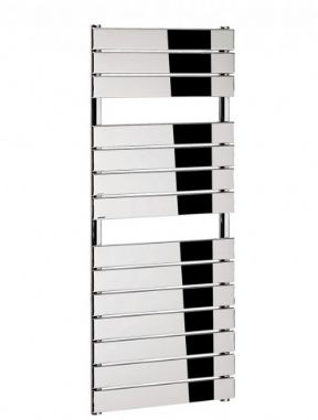 Bauhaus Elite Flat Panel 500 Chrome Towel Rail