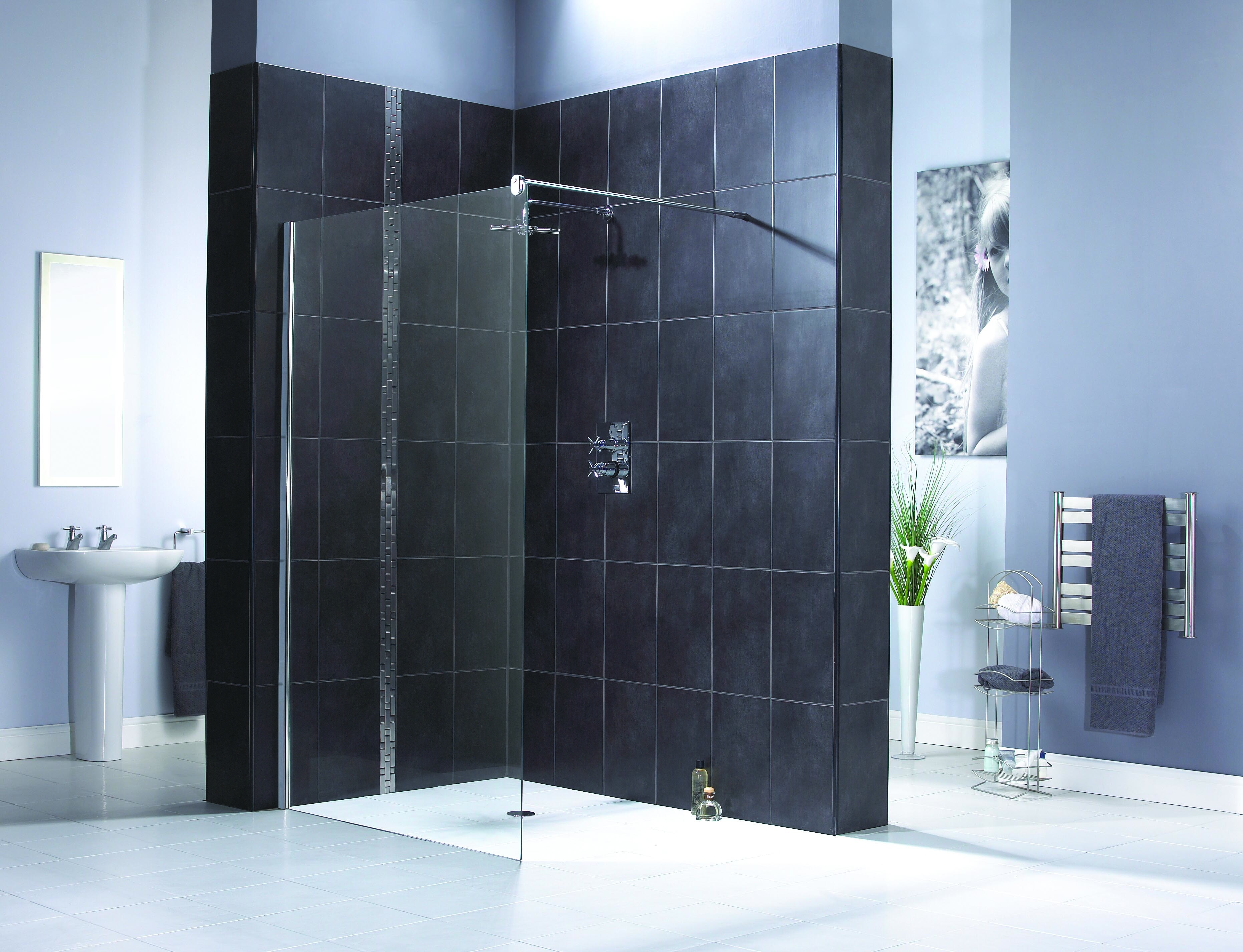 Aqualux Shine Shower Panel - Nationwide Bathrooms