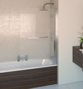 Aqualux Aqua8 Hinge Square Bath Screen