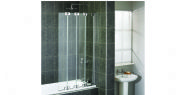 Aqualux Aqua6 4 Fold Bath Screen