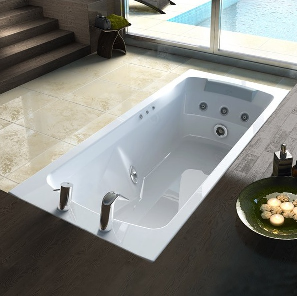 Jacuzzi Conforto 1800 Sinlge Ended Whirlpool Bath - Nationwide Bathrooms