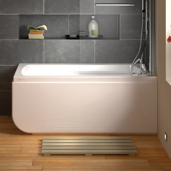 Compact Bath jacuzzi conforto compact soaker bath - nationwide bathrooms