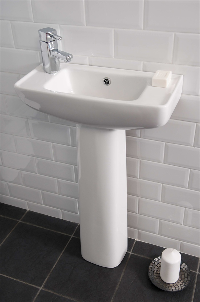 Harrington elgin cloakroom basin nationwide bathrooms - Slim cloakroom basin ...