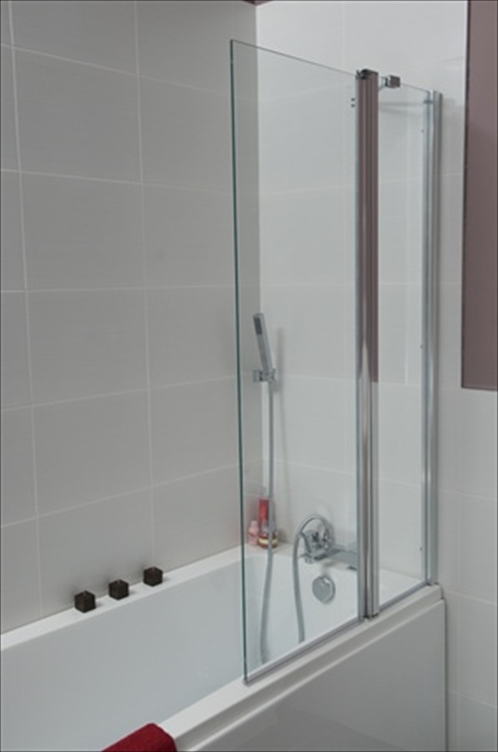 Harrington Esk Double Folding Bath Screen Nationwide