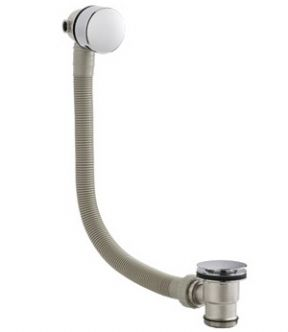 Harrington Round Slimline Freeflow Bath Filler