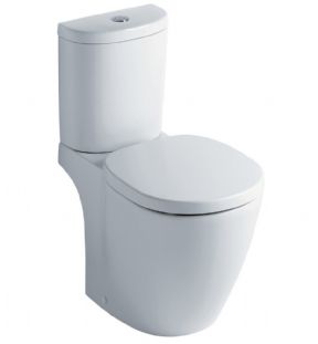 Ideal Standard Concept Compact Close Coupled WC With Arc Cistern