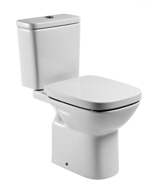 Roca victoria plus close coupled wc nationwide bathrooms - Wc roca victoria precio ...