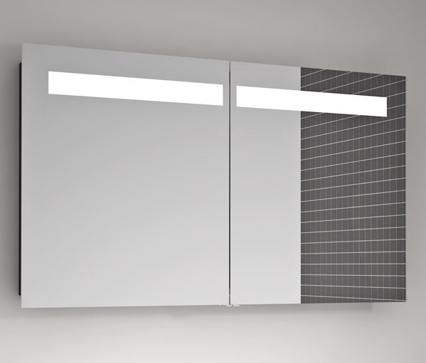 Scanbad 120cm Mirror Cabinet With Integrated Lighting