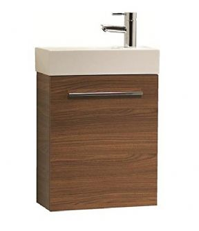 Tavistock Kobe Walnut 450 Wall Mounted Vanity Unit