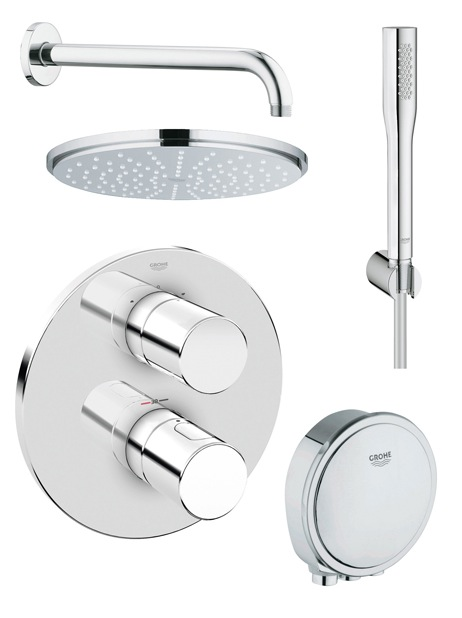 Grohe Shower Kit 118329 - Nationwide Bathrooms