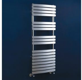 Phoenix Olivia Curved Chrome Towel Rail