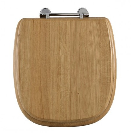 Imperial Radcliffe Solid Wood Toilet Seat Soft Close Nationwide Bathrooms