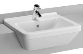 Vitra S50 55CM Square Semi Recessed Basin