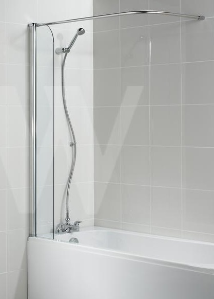 Ideal Standard Connect Shower Guard With Rail With Ideal Standard Connect