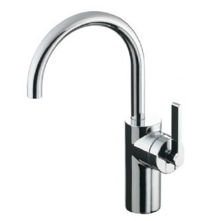 Ideal Standard Silver Lever Vessel Basin Mixer