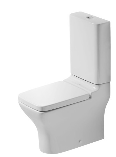 duravit puravida close coupled wc nationwide bathrooms. Black Bedroom Furniture Sets. Home Design Ideas