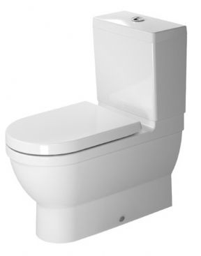 Duravit Starck 3 Elongated Close Coupled WC